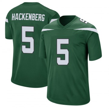 Youth Christian Hackenberg New York Jets Game Green Gotham Jersey