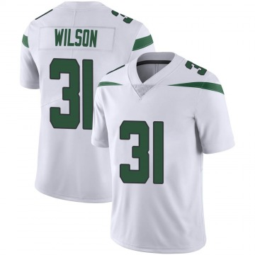 Youth Quincy Wilson New York Jets Limited White Spotlight Vapor Jersey